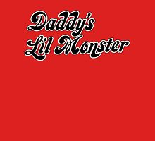 Daddy's Lil Monster Quotes Quinn Women's Fitted Scoop T-Shirt