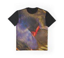 Preening Graphic T-Shirt