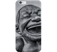 A-maze-ing Laughter 14- Black and White iPhone Case/Skin