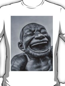 A-maze-ing Laughter 14- Black and White T-Shirt