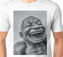 A-maze-ing Laughter 14- Black and White Unisex T-Shirt