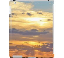 Sunset Background - Tranquil Harmony of Beauty  iPad Case/Skin