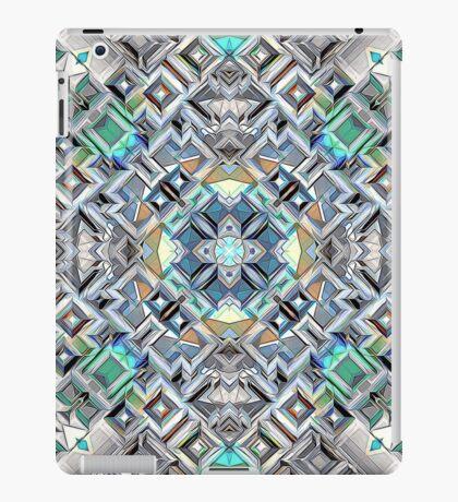 Geometric Metallic Pattern iPad Case/Skin