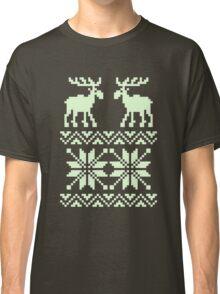 Moose Pattern Christmas Classic T-Shirt