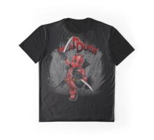 The Dead Duck Red Black Ninja Graphic T-Shirt