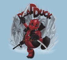 The Dead Duck Red Black Ninja One Piece - Short Sleeve