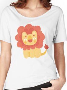Cute Little Lion Women's Relaxed Fit T-Shirt