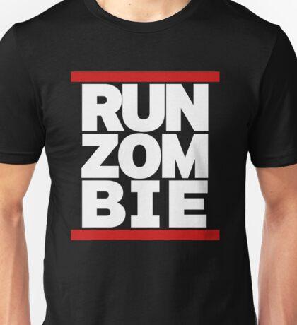 run zombie Unisex T-Shirt