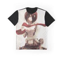 mikasa ribbon Graphic T-Shirt