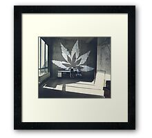 Hanf Style Framed Print