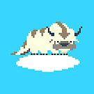 8-bit Appa on a Cloud by mmmham