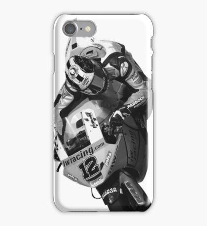 Bike GP heroes in action - 'Tom Luthi' iPhone Case/Skin