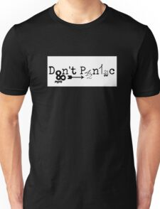 The hitchhiker's guide back to the future Unisex T-Shirt