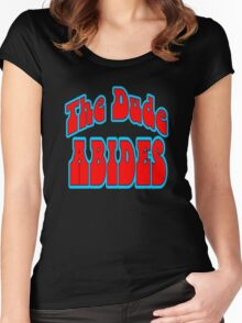 The Dude Abides Women's Fitted Scoop T-Shirt