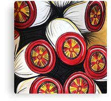 SQUARE - gum nuts Canvas Print