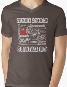 Zombie Survival Kit Mens V-Neck T-Shirt