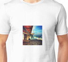 Under the pier, Venice Beach Unisex T-Shirt