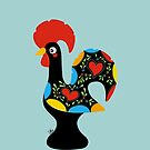Famous Rooster 05 by Silvia Neto