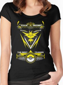 TEAM INSTINCT - POKEMON Women's Fitted Scoop T-Shirt