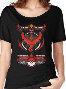 TEAM VALOR - POKEMON Women's Relaxed Fit T-Shirt