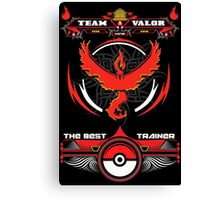 TEAM VALOR - POKEMON Canvas Print