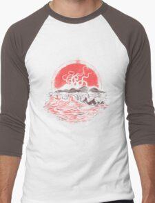 Tentacle Wars Men's Baseball ¾ T-Shirt