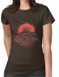 Tentacle Wars Womens Fitted T-Shirt