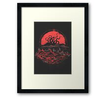 Tentacle Wars Framed Print