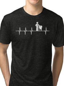 Love Dentist Job Tri-blend T-Shirt