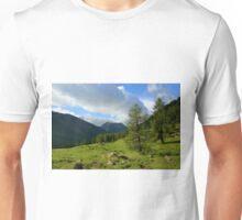 Wooded slopes Unisex T-Shirt
