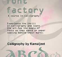 A COURSE IN CALLIGRAPHY by Kamaljeet Kaur