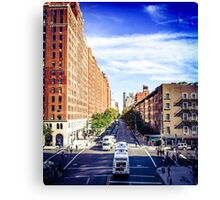 Looking down from The Highline, 2 Canvas Print