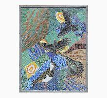 Seaside bird mosaic pattern Unisex T-Shirt