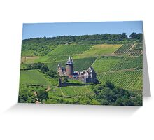 Stahleck Castle In The Rhineland Greeting Card