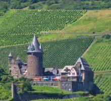 Stahleck Castle In The Rhineland Sticker