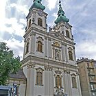 St Anne's Church, Budapest, Hungary by Margaret  Hyde