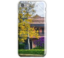 Terrace houses in Woolhara, Sydney iPhone Case/Skin