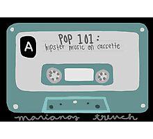 Pop 101: Cassette Photographic Print