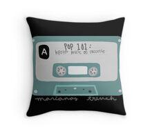 Pop 101: Cassette Throw Pillow