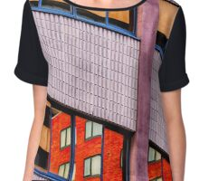 Architectural Abstract #3 Chiffon Top