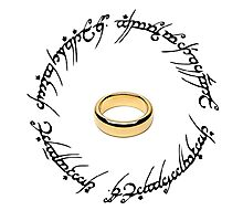 The One Ring. Photographic Print