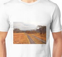 A Secluded Road in Africa Unisex T-Shirt