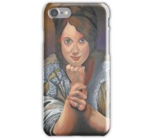 A Young German Woman In Traditional Dress iPhone Case/Skin
