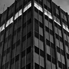 Architectural Abstract Black and White #2 by Chris Cobern