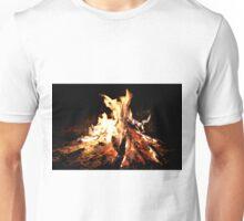 An Open Camp Fire in Africa Unisex T-Shirt