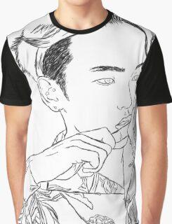 SHINee Key Portrait Graphic T-Shirt