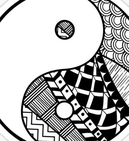 Tumblr Yin Yang Sticker