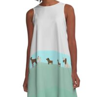 Dog Days A-Line Dress