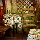Crooked Chair at the Corner Table by SummerJade