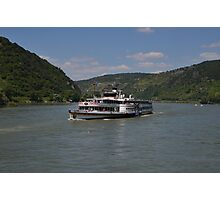 Steamer Goethe Photographic Print